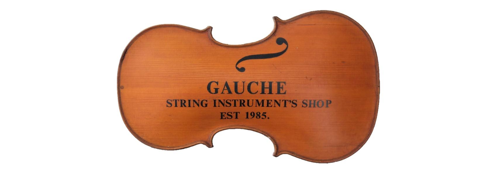 gauche string instrument's shop